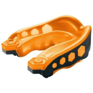 Shock Doctor v2 Gel Max Mouth Guard Orange & Black