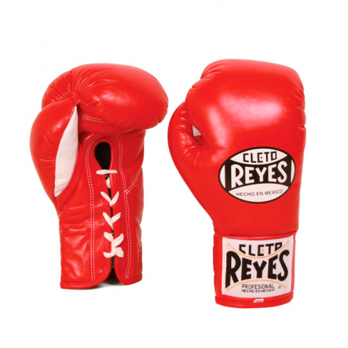 Cleto Reyes Official Traditional Contest Fight Gloves Red