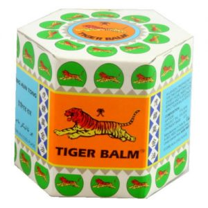 3 x Tiger Balm Jar White 20g