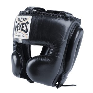 Cleto Reyes Black Head Guard with Cheek Protection