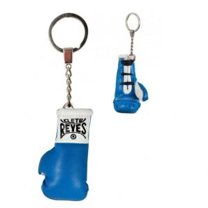 Cleto Reyes Official Fight Glove Key Ring Blue