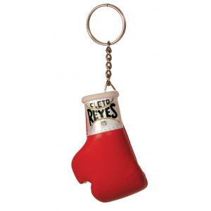 Cleto Reyes Official Fight Glove Key Ring Red