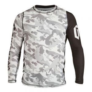 Gameness Camo Long Sleeve Rash Guard