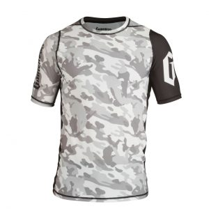 Gameness Camo Short Sleeve Rash Guard