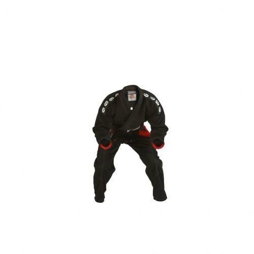 Gameness Pearl BJJ Gi Black Kimono Bjj Gi Uniform Pealrl Weave Black