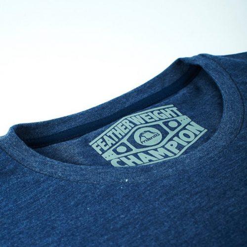 Manto Athletic Blue Denim T-Shirt BJJ Nogi MMA Casual tee