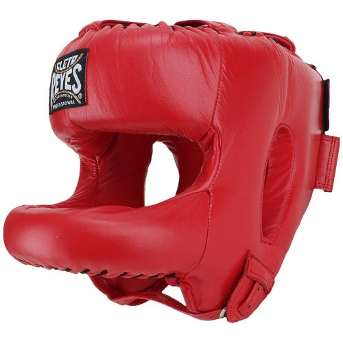 Cleto Reyes Red Head Guard with Face Saver