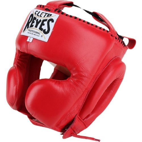 Cleto Reyes Red Head Guard with Cheek Protection