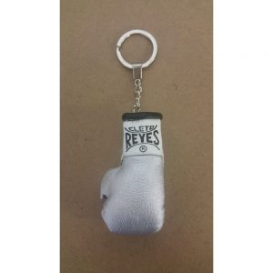 Cleto Reyes Official Fight Glove Key Ring Silver