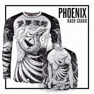 Tatami Phoenix Rising Rash Guard