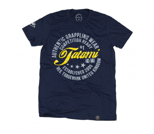Tatami Navy Authentic T-Shirt