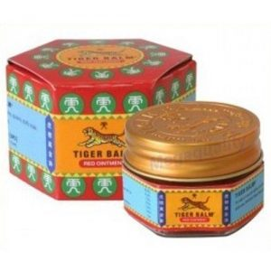 3 x Tiger Balm Jar Red 10g - tiger balm red