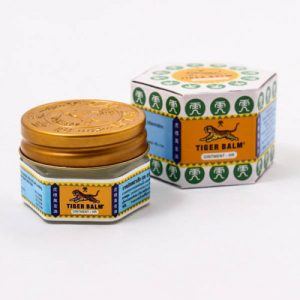 3x Tiger Balm Jar White 10g