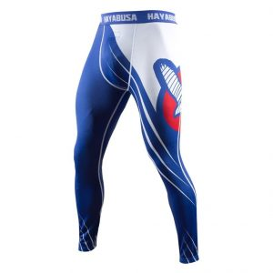 Hayabusa Recast Compression Pants Blue White