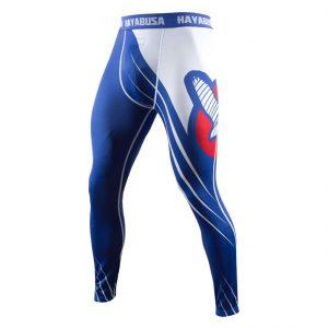 Hayabusa Recast Compression Pants Blue White