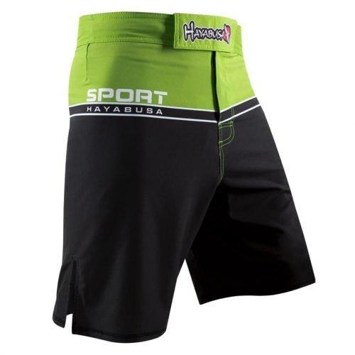 Hayabusa Sport Training Shorts Black Green