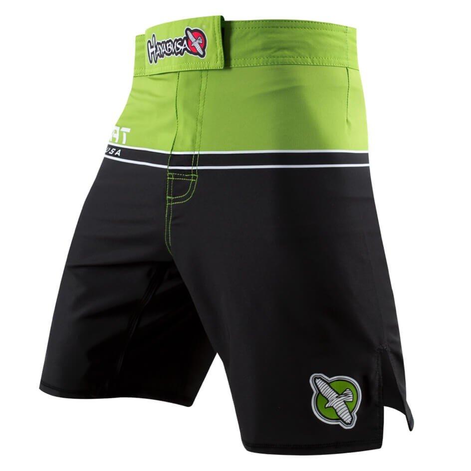 Hayabusa Sport Training Shorts Black Green | Minotaur ...