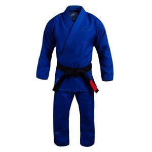 Hayabusa Stealth Blue Pearl Weave Jiu Jitsu Gi