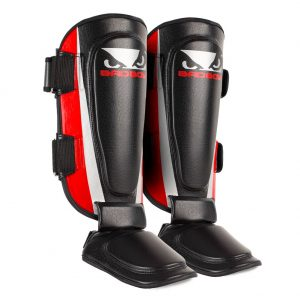 Bad Boy Training Series 2.0 Shin Guards Red