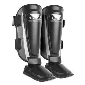 Bad Boy Training Series 2.0 Shin Guards Charcoal