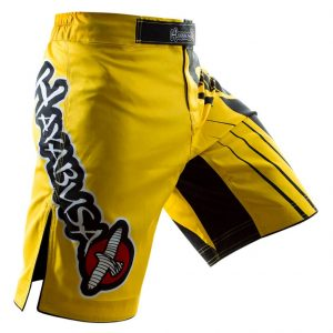 Hayabusa Chikara Recast Performance Shorts Yellow