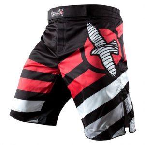 Hayabusa Elevate Performance Shorts Black Red