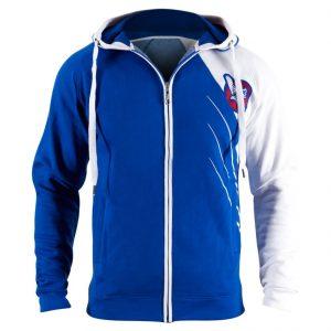 Hayabusa Recast Jacket Hoodie Blue White