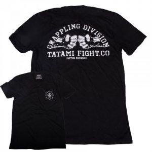 Tatami Grappling Division Tshirt Black T-Shirt BJJ