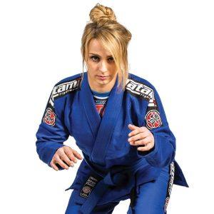 Tatami Ladies Nova BJJ Gi Blue Brazilian Jiu Jitsu Uniform Kimono BJJ Gi free shipping worldwide fight uniform tatami