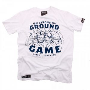 Tatami Strong Ground Game T-Shirt White