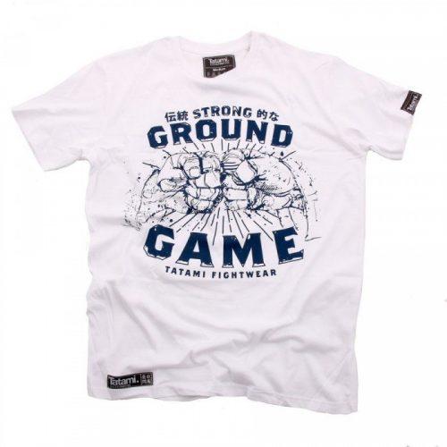 Tatami Strong Ground Game T-Shirt White