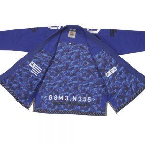 Gameness Elite BJJ Gi Blue Kimono Uniform Gameness Brazilian Jiu Jitsu Uniform