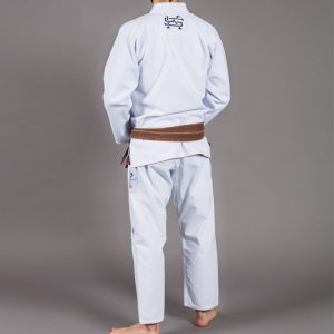Scramble Athlete 2 BJJ Gi White Kimono Uniform Brazilian Jiu Jitsu Tatami Manto Gameness Uk International shipping worldwide bjj