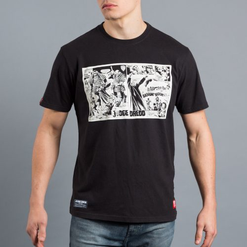 Scramble Judge Dredd Official T-Shirt