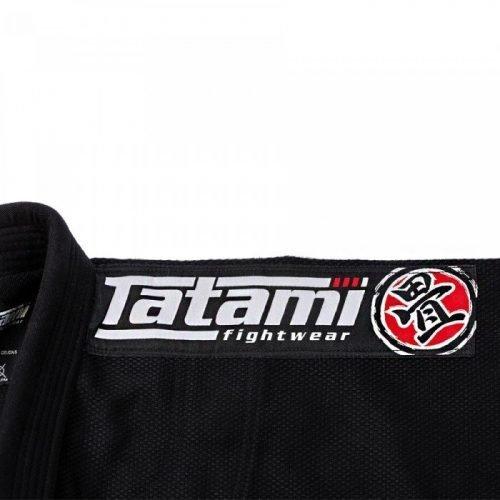 Tatami Kids Nova BJJ Gi Black youth kimono uniform brazilian jiu jitsu submission scramble manto gameness larai uk international worldwide shipping