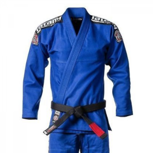 Tatami Kids Nova BJJ Gi Blue youth kimono uniform brazilian jiu jitsu submission scramble manto gameness larai uk international worldwide shipping