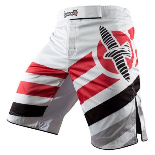 Hayabusa Elevate Performance Shorts White Red