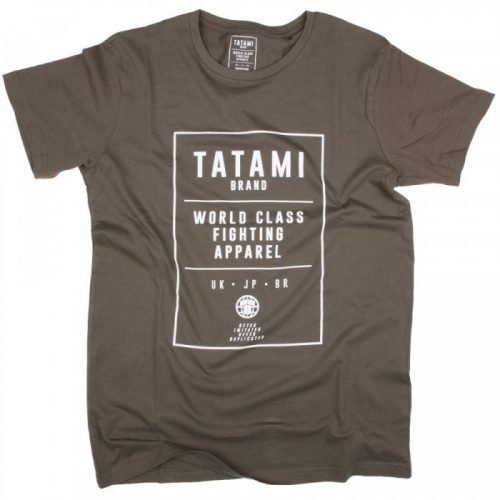 Tatami World Class Jiu Jitsu T-Shirt Khaki