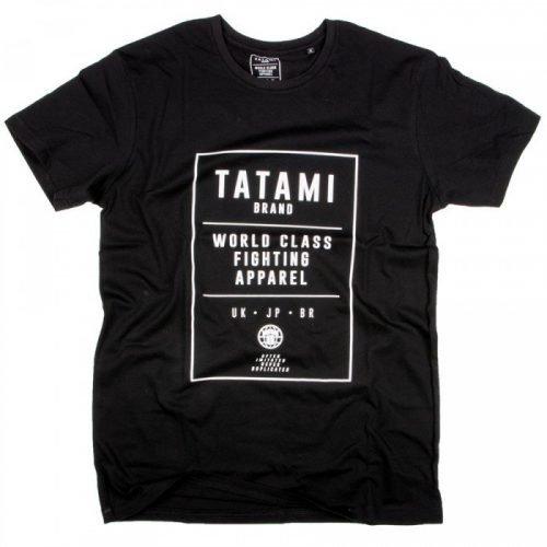 Tatami World Class Jiu Jitsu T-Shirt Black