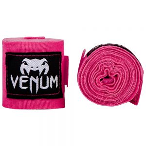 Venum Kontact Hand Wraps in Pink 4m