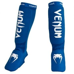 Venum Kontact Shin Instep Guards Blue