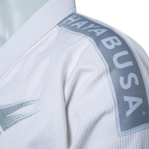 Hayabusa Stealth White Pearl Weave Jiu Jitsu Gi