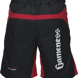 Gameness Strike Shorts Red Black