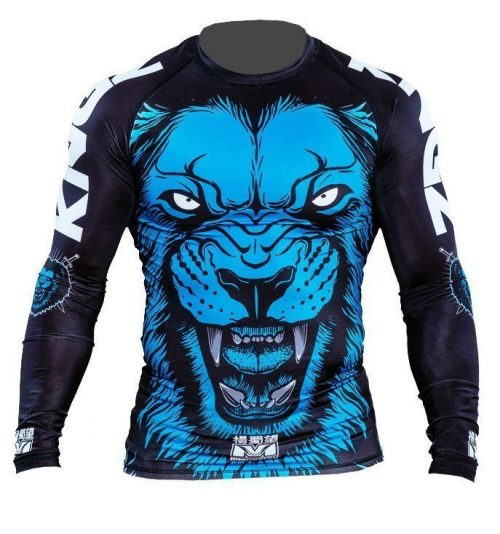 Kingz Lion V1 Longsleeve Rash Guard by Meerkatsu