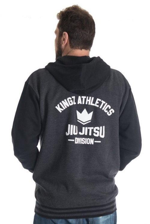 Kingz Varsity Hoodie in Black