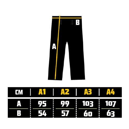 Manto BJJ Gi Size Chart