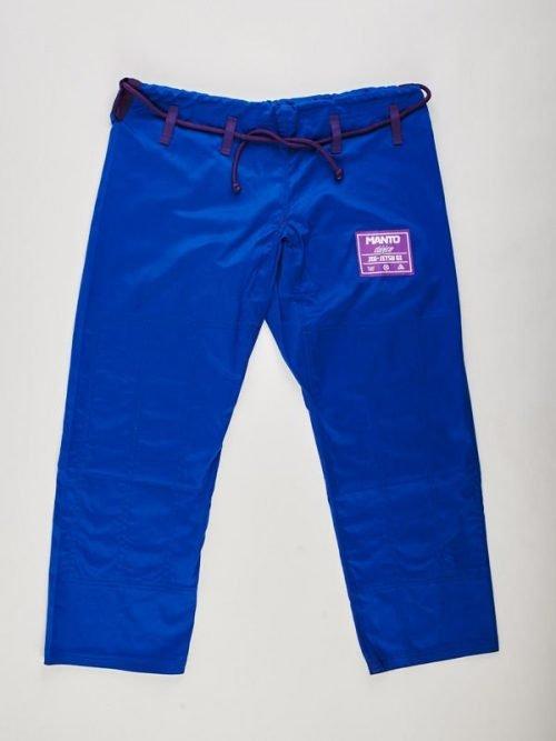 "Manto "" Clasico "" Limited Edition BJJ Gi Blue Purple"