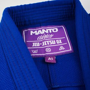 "Manto "" Clasico "" Limited Edition BJJ Gi Blue Purple"