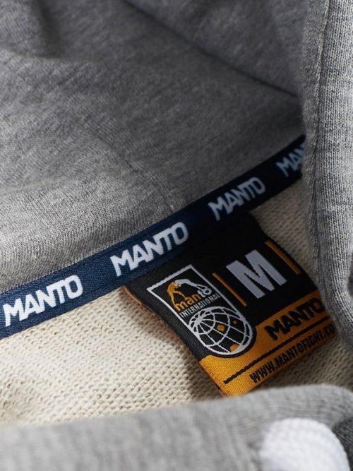 "Manto "" Movement "" Hoodie Grey"