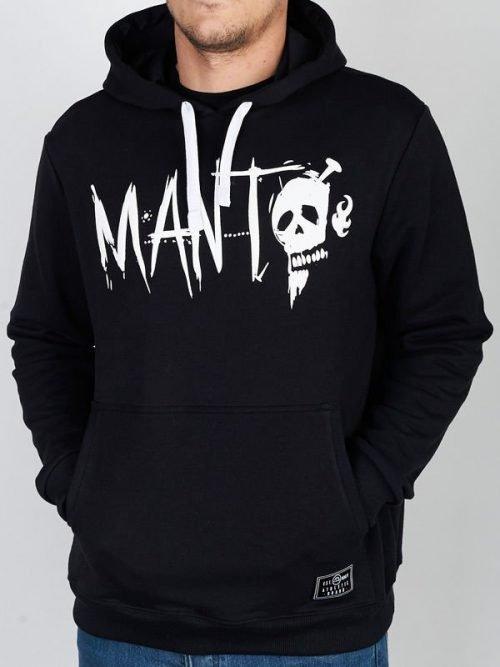 """Manto """"Voodoo"""" Black Hoodie"""